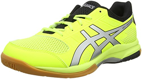 Asics Gel-Rocket 8 Scarpe Indoor Multisport Uomo, Giallo (Flash Yellow/Silver 750), 46 EU