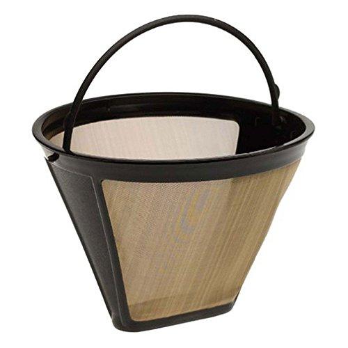 2Konus Form Permanent Coffee Filter 10–12cup waschbar wiederverwendbar Kaffee Filter Mesh mit...