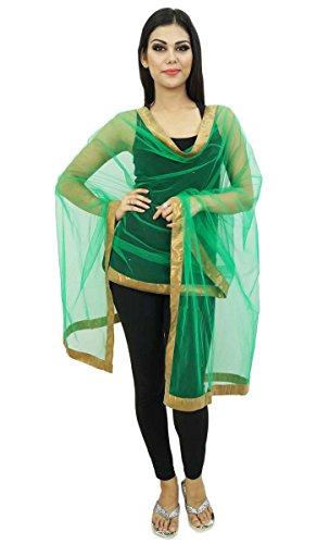 Net Chunni Indian Dupatta Frauen Mode Schals Ethnische lange Stola Strand-Schal