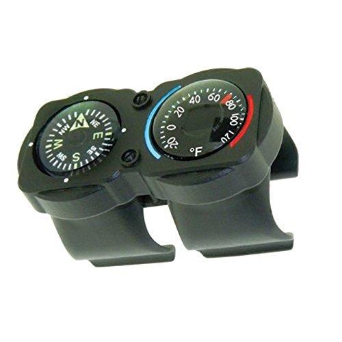 Unbekannt Sun Company cyclgage Bike Thermometer und Kompass | Fahrrad Lenker Zubehör