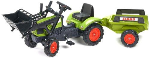 falk claas traktor Falquet & Cie Tret-Traktor Claas m.Hänger+Lader 2-5J