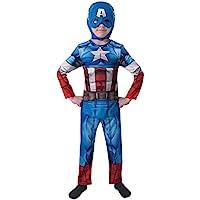 Rubie's IT610261-M - Costume Capitan America Classic, M