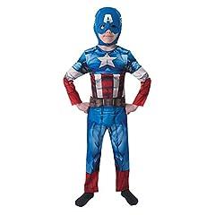Idea Regalo - Rubie's IT610261-M - Costume Capitan America Classic, M