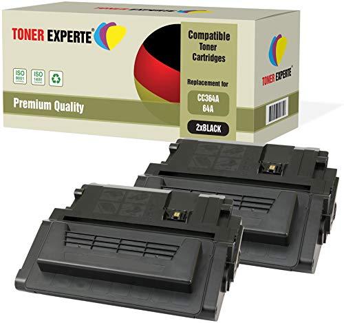2er-Pack TONER EXPERTE® Premium Toner kompatibel zu CC364A 64A für HP Laserjet P4014, P4014N, P4014DN, P4015, P4015N, P4015DN, P4015X, P4515, P4515N, P4515TN, P4515X, P4515XM