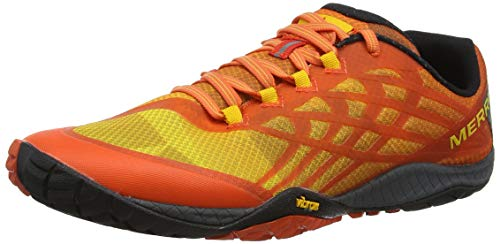 Merrell Trail Glove 4, Zapatillas Deportivas para Interior para Hombre, Naranja Tropical Punch, 43 EU
