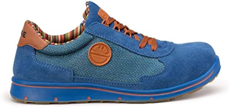 Cyclon Cross Zapatos zapato de seguridad, S1P/Cielo Azul