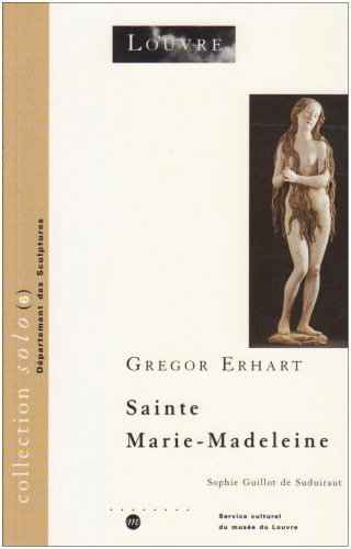 Gregor Erhart, Sainte Marie-Madeleine