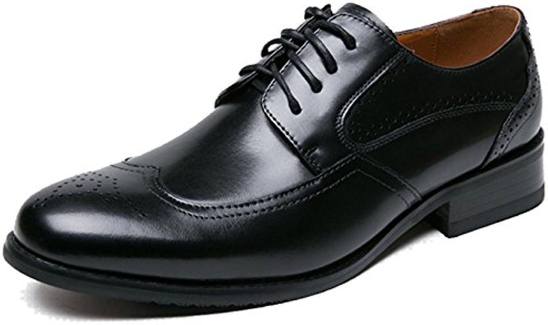 ZHMIAO Scarpe in Pelle per Uomo Scarpe da Uomo in Pelle da Uomo Scarpe da Uomo Scarpe da Uomo Scarpe da Uomo,nero-43 | Modalità moderna  | Uomo/Donne Scarpa