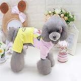 Clothes Pet Supplies Misc New clothes, dog clothes, pet supplies, pet clothes, boys, four-legged jeans (Color : Pink, Size : XXL) Coat (Color : Pink, Size : XXL)