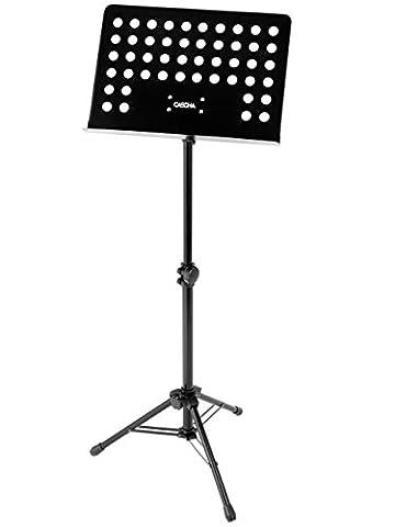cascha HH 2012Pupitre d'orchestre–Pupitre pour partitions Noir