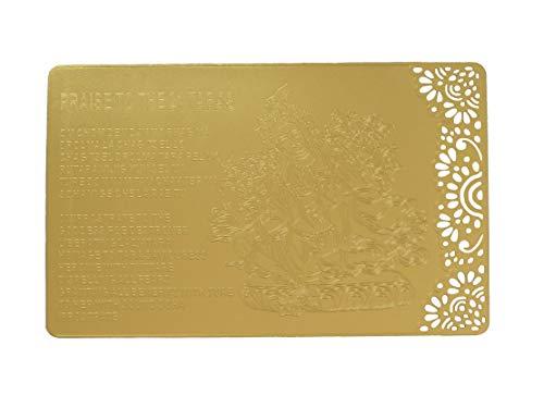 Feng Shui Praise to 21 Teer auf Goldkarte -