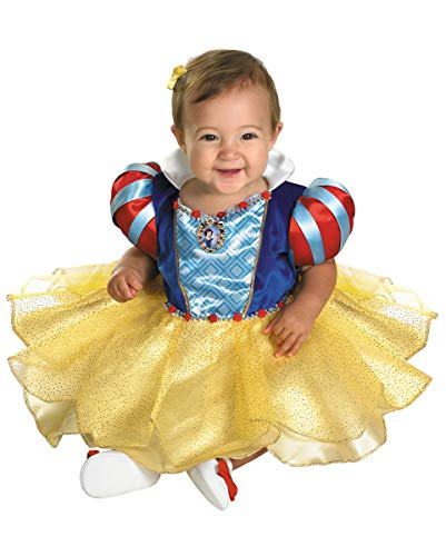 Horror-Shop Schneewittchen Babykostüm für Karneval und Mottoparties (Baby Königin Der Herzen Kostüm)