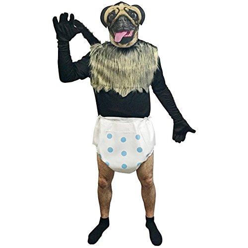 Mountain Dew - Puppy Monkey Baby Adult Costume (Pepsi Kostüm)