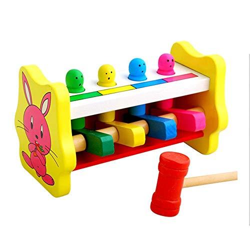 Aiming Kinder-Kind-Jungen-Mädchen-Gehirn-Spiel-Spielzeug-Tier Bunte Knocking Tabelle