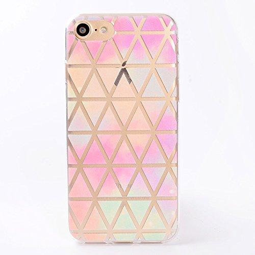 ZeWoo TPU Schutzhülle - TT004 / Diamant - für Apple iPhone 7 (4.7 inches) Silikon Hülle Case Cover TT004