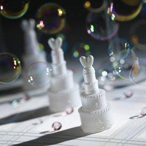Wedding Bubbles Torte - Seifenblasen für die Hochzeit - 24 Stück
