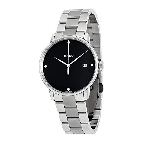 Rado Coupole Classic Diamonds Black Dial Ladies Watch R22864702