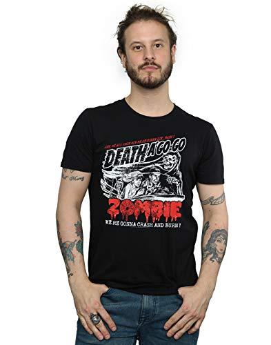 Rob Zombie Hombre Zombie Crash Camiseta