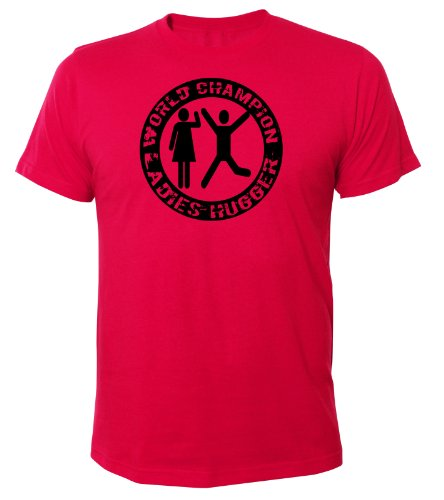 Mister Merchandise Cooles Fun T-Shirt World Champion Ladies Hugger Pink