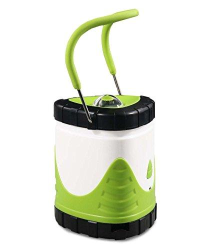 Kingwin USB rechargeable LED Lanterne lumière lampe d'extérieur Tente de camping portable 12*9.7cm Green