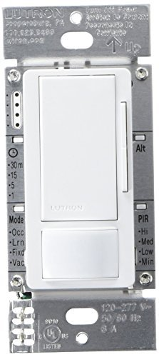 Lutron MS-Z101-WH Occupancy/Vacancy Dimmer Sensor by Lutron -