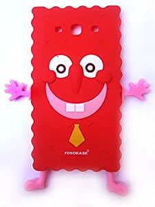 Fonokase Bob Series Case For Samsung Galaxy S3 - Red