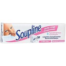 Soupline - Toallita secadora de ropa hipoalergénica - 20 unidades