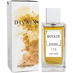 DIVAIN-174, Eau de Parfum pour femme, Spray 100 ml