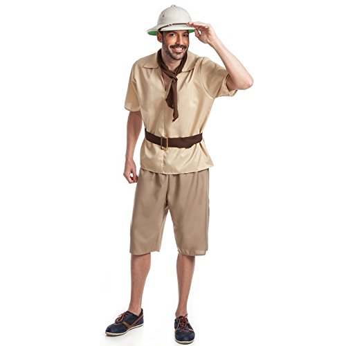Imagen de el rey del carnaval  disfraz de explorador  pr 9205400  hombre, l