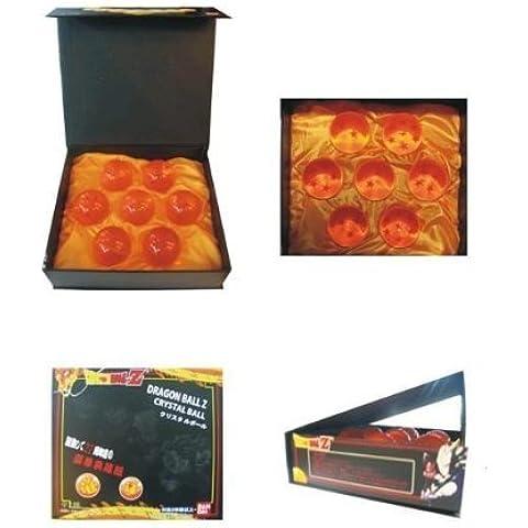 Dragon Ball Crystal Ball Z Stars, 7 piezas de cada caja
