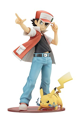 Pokemon Figure Series - Red with Pikachu [ARTFX J][Importación Japonesa]