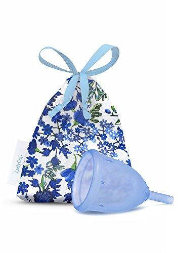 LadyCup Blau S(mall) Menstruationstasse klein