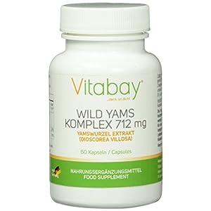 Wild Yams Extrakt – Komplex – 712 mg – 60 Kapseln