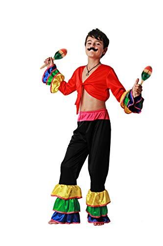 Costumizate! Kostüm Brasilien Verschiedene Größen für Kinder Kostümpartys oder Karneval (Brasilien Kostüm Für Mädchen)