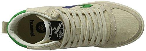 hummel SL. Stadil Duo Canvas High, Sneakers Hautes Mixte Adulte Blanc (Pristine White)