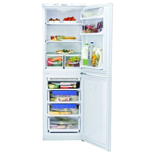 Hotpoint HQ9E1L Freestanding A+ Rated American Fridge Freezer -Stainless Steel Best Price and Cheapest