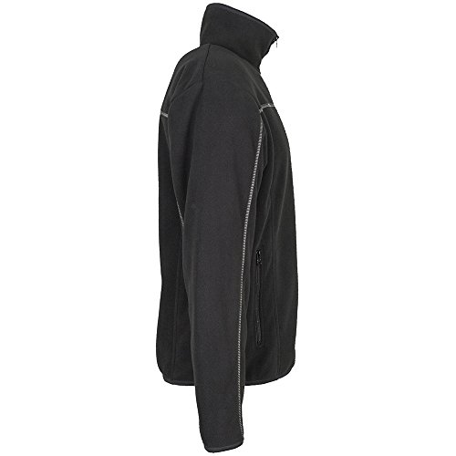 PLANAM - Inuit Fleece Jacke - Erprobt bei extremen Temperaturbedingungen. schwarz
