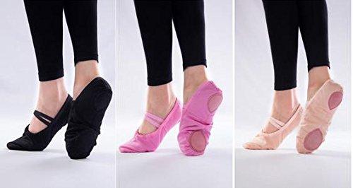 Chaussures de ballet et des chaussures de danse femmes Black