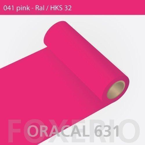 ORAFOL Oracal 631-31cm Rolle - 5m (Laufmeter) - Pink/matt, A22oracal - 631-5m - 31cm - 11 - kl - Autofolie/Möbelfolie/Küchenfolie