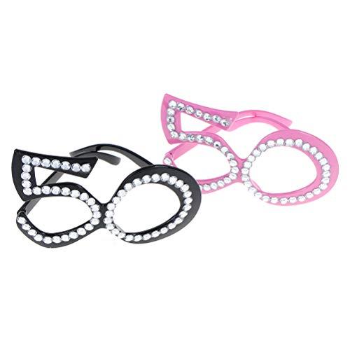 eburtstagsparty-Brille zum 50. Geburtstag Foto-Requisiten Geburtstag Party Supplies ()