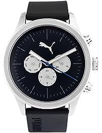 Puma Reloj Multiesfera para Hombre de Cuarzo con Correa en Plástico PU104281004