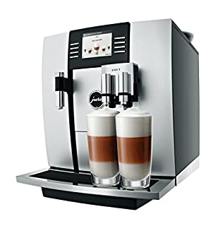 JURA GIGA 5 Independiente Máquina espresso Aluminio, Negro 2,6 L 20 tazas Totalmente automática - Cafetera (Independiente, Máquina espresso, 2,6 L, Molinillo integrado, 2300 W, Aluminio, Negro) (B005ZMO5EA) | Amazon Products