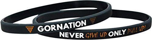 Calisthenics Street Workout Armband Band Never Give Up Only Pull Up! (4 Stück) Equipment Accessoires