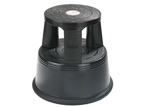 Desq 60060.09 Tritthocker Bruchfester Kunststoff Frischer, moderner Look, schwarz