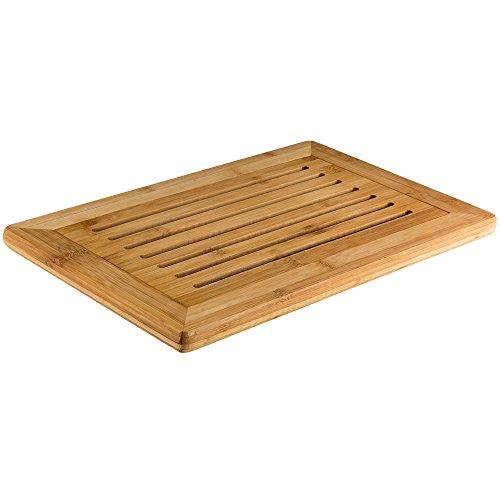 Kesper 58105 Tabla de cortar, bambú, 42x 28x 2cm, color marrón