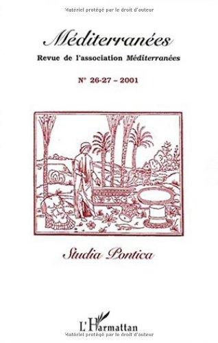 Mediterranees n.26-27 2001 : studia pontica par Collectif