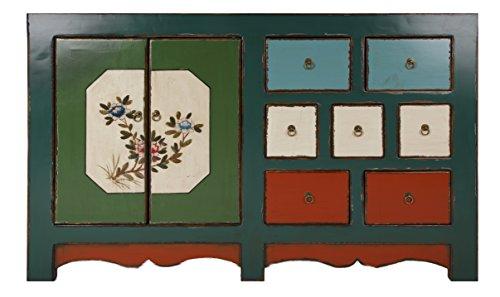 HomeElements Chinesische Rustic Antik-Look mit Lack Sideboard Kommode (Handwerker-sideboard)