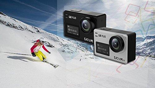 SJCAM SJ8 Plus Native 4K dual screen Wifi Sports Action Camera 2 inch IPS Retina Screen Instant Camera(Black) 4