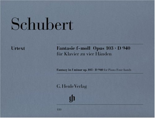 Fantasy f minor op. 103 D 940 - piano (4 hands) - (HN 180) par Franz Schubert