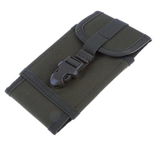 MagiDeal Unisex Marsupio Sportivo Tattico Cintura Borsa da Corsa Running Waist bag per Viaggio Campaggio Ciclismo - Esercito Esercito